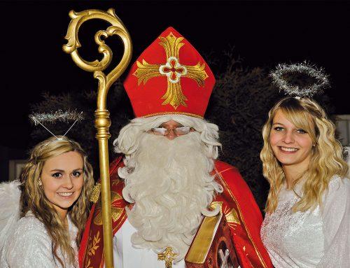 Der Nikolaus flucht nicht.  Oder nur ganz selten.